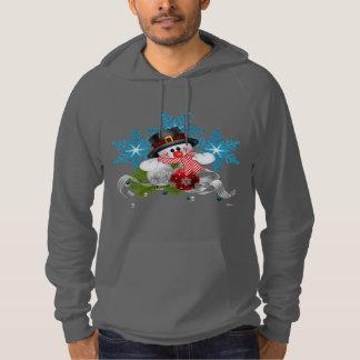 Sweat - shirt à capuche de pull d'ouatine d'homme