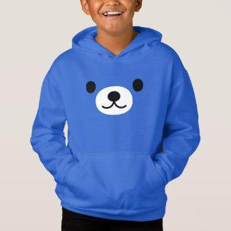 Sweat - shirt à capuche de pull d'ouatine d'ours