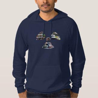 Sweat - shirt à capuche de symbole du rayonnement