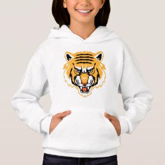 Sweat - shirt à capuche de tigre d'enfants