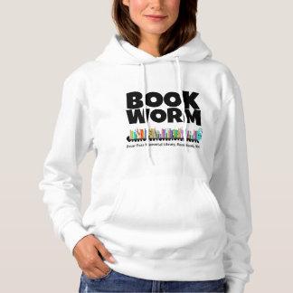 Sweat - shirt à capuche de ver de livre d'OFML