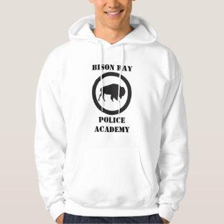 Sweat - shirt à capuche d'école de police