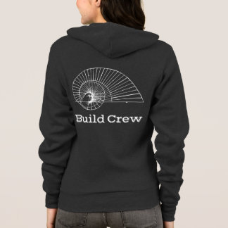 Sweat - shirt à capuche d'équipage de construction
