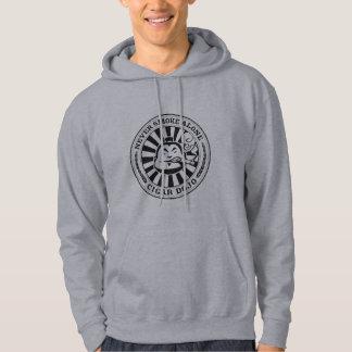 Sweat - shirt à capuche d'insignes de Dojo de