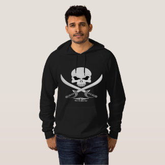 Sweat - shirt à capuche d'ouatine de pirate de