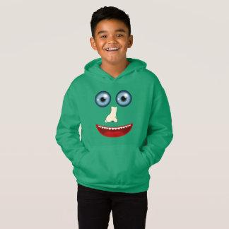 Sweat - shirt à capuche drôle de visage