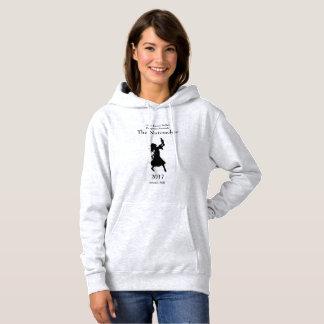 Sweat - shirt à capuche du casse-noix des femmes