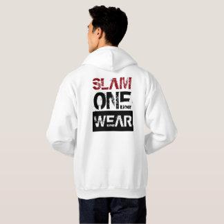 Sweat - shirt à capuche d'USAGE du CLAQUEMENT UN