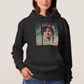 Sweat - shirt à capuche esthétique de femmes de