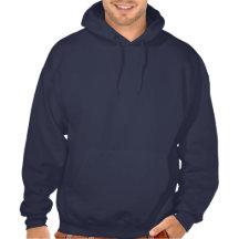 Sweat - shirt à capuche foncé de Jumpstyle (bleu m Sweats À Capuche