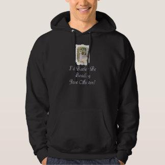 Sweat - shirt à capuche foncé d'IRBR Jane Austen, Sweatshirts Avec Capuche