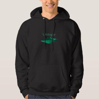 Sweat - shirt à capuche foncé d'Ufologist avec