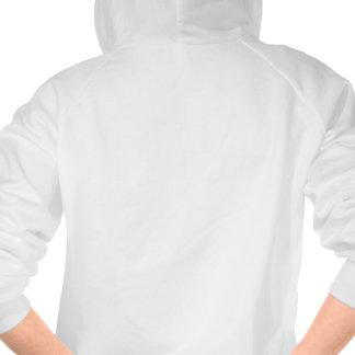 Sweat - shirt à capuche gaspillé par fille blanche pulls avec capuche