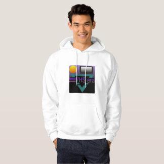 Sweat - shirt à capuche graphique de gradient de