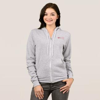 Sweat - shirt à capuche, gris