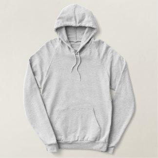 Sweat - shirt à capuche gris d'ouatine de pull de sweat-shirts à capuche