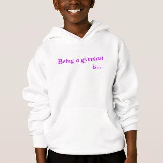 Sweat - shirt à capuche inspiré gymnastique de