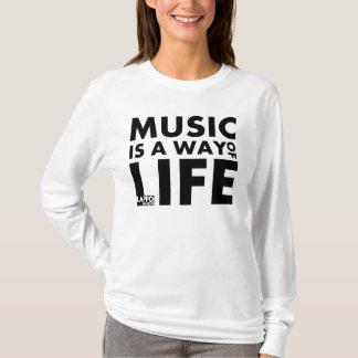 Sweat - shirt à capuche : La musique est un mode