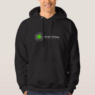 Sweat - shirt à capuche libre d'exposition de pulls avec capuche