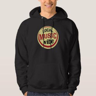 Sweat - shirt à capuche local de Vibe de musique Pulls Avec Capuche