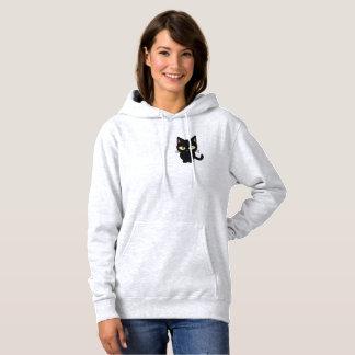 sweat - shirt à capuche mignon de chat