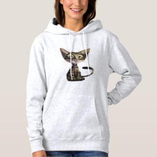 Sweat - shirt à capuche mignon de chat de