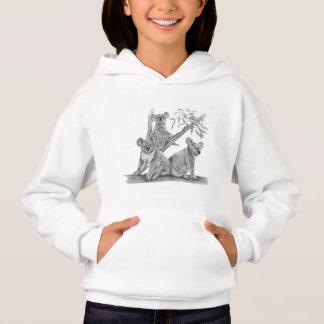 Sweat - shirt à capuche mignon d'ours de koala
