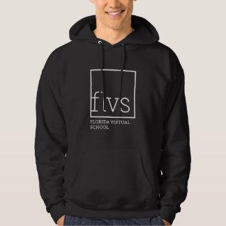 Sweat - shirt à capuche noir adulte de FLVS