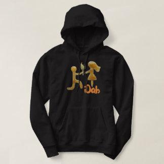 sweat - shirt à capuche noir d'iDab