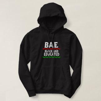 Sweat - shirt à capuche noir et instruit de BAE