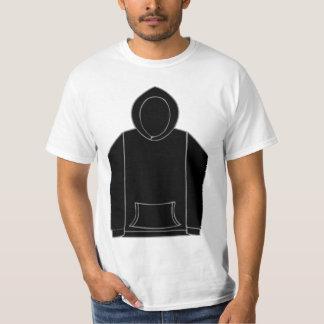 Sweat - shirt à capuche noir T 617 - 818 T-shirt