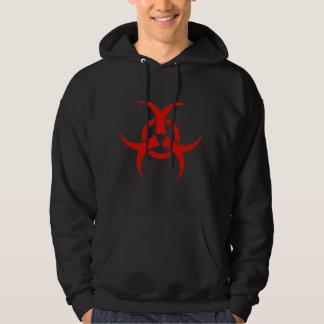 Sweat - shirt à capuche personnel de Biohazard de