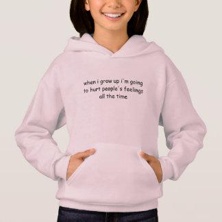 sweat - shirt à capuche pour votre fille terrible