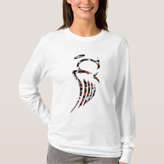 Sweat - shirt à capuche rouge d'ange de Camo des