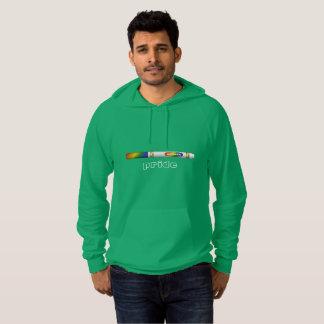 Sweat - shirt à capuche vert de fierté de marqueur