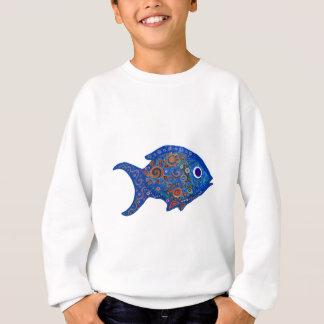 Sweat shirt de poissons