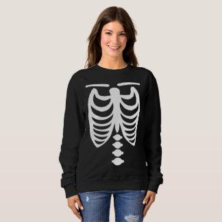 Sweat shirt de squelette de Halloween