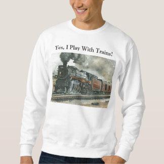 Sweat shirt de train