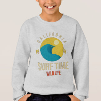 Sweat Shirt Garçon Surf
