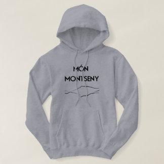 Sweat-shirt Monmontseny gris Veste À Capuche