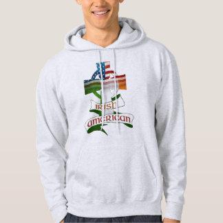 Sweat - shirts à capuche américains irlandais de