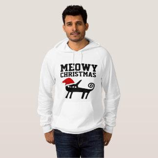 Sweat - shirts à capuche de chat de Noël et