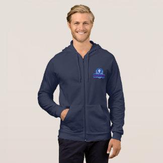 sweat - shirts à capuche de marine avec le logo de