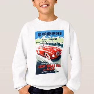 Sweatshirt 1949 Français Grand prix emballant l'affiche