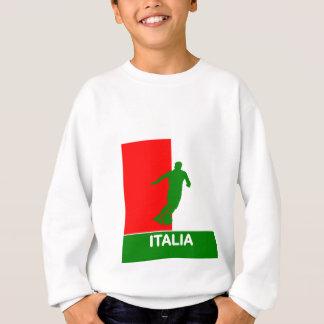 Sweatshirt 2010 du football de l'Italie Italie