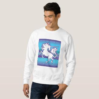 Sweatshirt 2013 inspiré de la licorne M de mode de