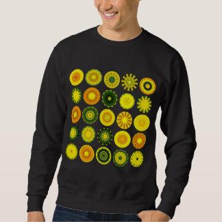 Sweatshirt 25 mandalas I - customisés