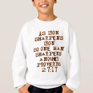 Sweatshirt 27:17 de proverbes