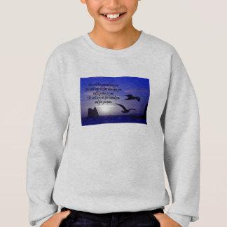 Sweatshirt 6h24 numérique - 26 sur de doubles bleus d'oiseau