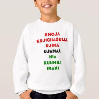 Sweatshirt 7 principes de Kwanzaa
